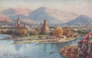 Scotland Postcard - Tuck Oilette - Fort Augustus, The Monastery RS23345