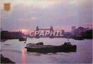 Modern Postcard London Bridge Tower
