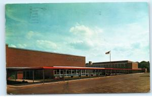 Meadville Area Senior High School North Street Extension PA Vintage Postcard B17
