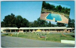 CHATTANOOGA, Tennessee TN   Roadside  SHAMROCK MOTEL Pool  c1960s  Postcard