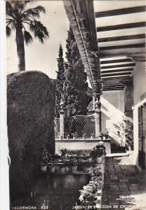 Spain Cartuja De Valldemosa Jardin de la Celda de Chopin Photo