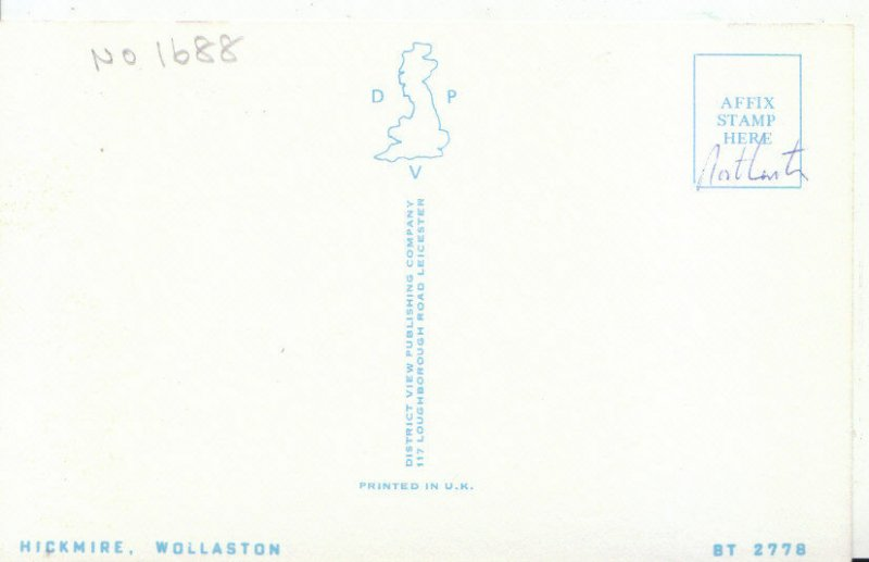 Northamptonshire Postcard - Hickmire - Wollaston - Ref 3912A