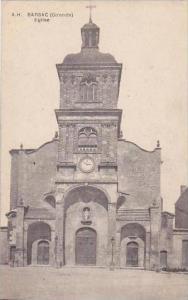 France Barsac Gironde Eglise