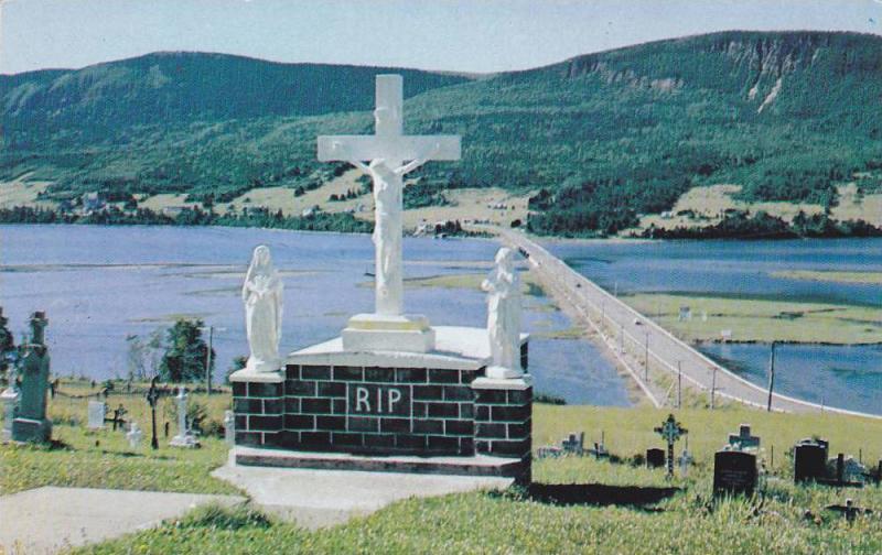 Pointe Navarre Causeway , Gaspe , Quebec , Canada , 50-60s