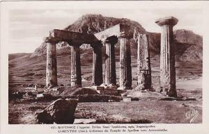 RP, Pillars Of Apollo's Temple, Near Acrocorinth, Corinth, Greece, 1920-1940s