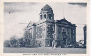 Ohio Woodsfield Monroe County Court House 1938