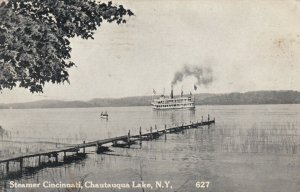 CHAUTAUQUA , New York , 1911 ; Steamer Cincinnati