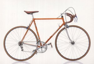 Berma Professional Italian Italy 1980 Bike Bicycle Postcard