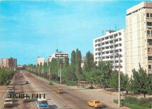 Uzbekistan Tashkent Lenin Prospekt postcard