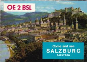 OE2BSL Come and See Austria Joe G Buketits