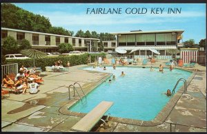 Michigan ~ DEARBORN Fairlane Inn, 21430 Michigan Ave. Chrome 1950s-1970s