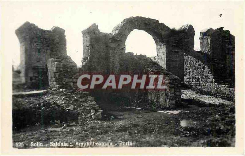 Postcard Modern Solin Salonae Amphitheatrum Porta