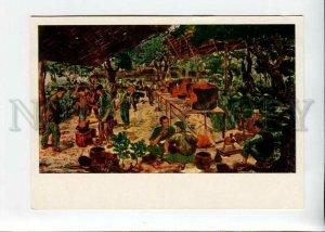 3154335 VIETNAM WAR Blacksmith in Mount by Le Kuok Lok OLD PC