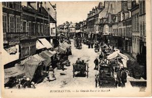 CPA AK ROMORANTIN - La Grande Rue et le Marché (208910)