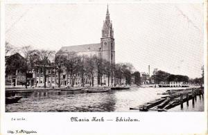 CPA SCHIEDAM Maria Kerk NETHERLANDS (602159)