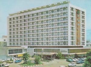 Thailand Montein Hotel Suriwongse Road Bangkok Postcard
