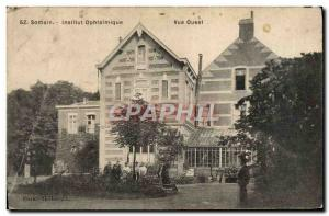 Old Postcard Ophthalmic Somain Inslitut west View