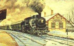 Chicago and North Western Railway Wilton, Wisconsin, Usa Train Trains Locomot...