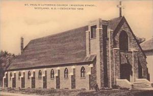 South Dakota Scotland St Paul Lutheran Church Missouri Synod Artvue