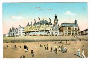 Le Kursaal Et La Plage, Ostende (West Flanders), Belgium, PU-1916