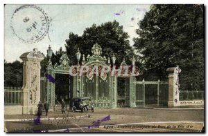 Postcard Old Main Entree Lyon's Tete d4Or Park