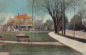 Riverside Park & Maple Ave., Elmira, New York, PU_1912