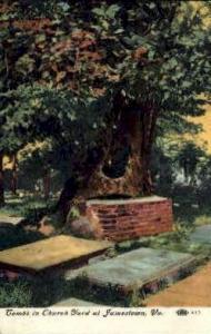 Tombs in Churchyard