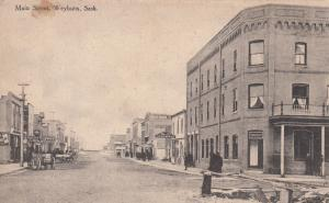 WEYBURN , Saskatchewan , Canada , 00-10s ; Main Street