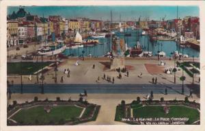 LE HAVRE, La Place Gambetta et les nouveaux Jardins, Seine Maritime, France, ...