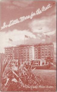 The Copley Plaza Boston MA Massachusetts Postcard F2