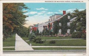 Virginia Petersburg Residences On Westover Avenue Curteich