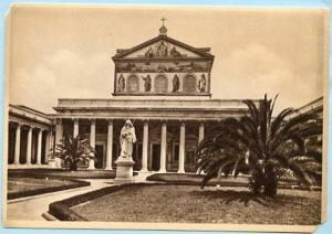 Italy - Rome, Basilica of St. Paul   *RPPC