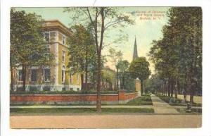 Corner of Dalaware and North Streets, Buffalo, New York,PU-1909