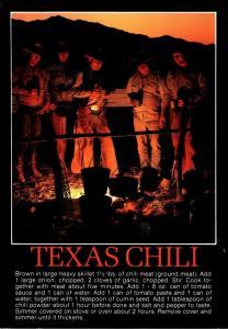 Recipe Card Yexas Chili 1996