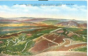 Loops and Double Bow-Knot on Automobile Highway up Pikes ...