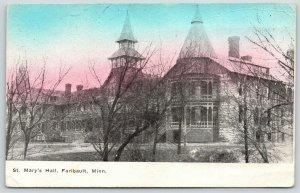 Fairbault MN~St Mary's Hall Girls School~Castle on the Rhine~Burned 1924~1911 PC