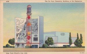 New York World's Fair 1939 Du Pont Chemistry Building Curteich sk1941