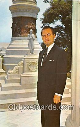 Governor George Wallace American from Alabama Political Postcard Post Card Am...