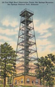 Arkansas Hot Sprinhs 165 Feet High Steel Observation Tower Hot Springs Mountain