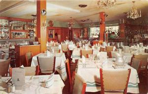 Virginia  Williamsburg   The Lafayette Restaurant  Dinning Room