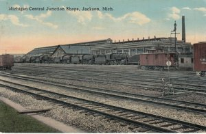 JACKSON , Michigan , 1916 ; Michigan Central Railroad Junction Shops