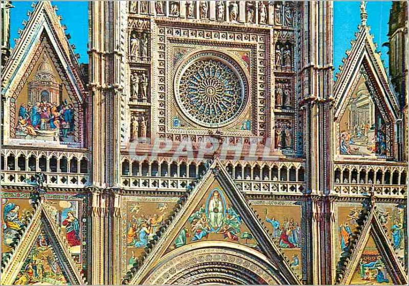 Postcard Modern Orvieto Dome Private
