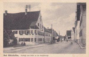 Bad Worishofen Gasthaf Germany Bavaria Antique Postcard