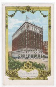 Hotel Deshler Columbus Ohio 1920s postcard