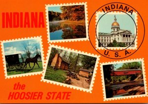 Indiana Indianapolis The Hoosier State Multi View
