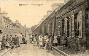 CPA TERGNIER La Rue Jacquart (155683)