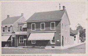 Missouri Genevieve First Brick House West Of Mississippi