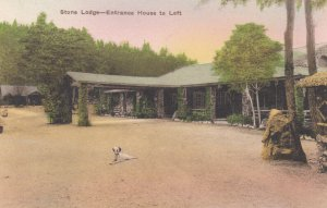 ENDLESS CAVERNS (Cave) , New Market Virginia , 1910s ; Lodge & Entrance House