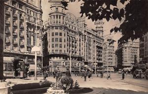 Spain Valencia Plaza del Caudillo Street Strasse