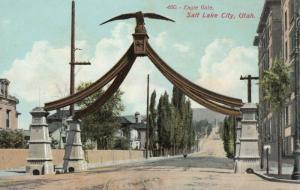SALT LAKE CITY,  Utah,  00-10s;  Eagle Gate, State Street